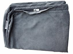 Dogbed4less 55X47X4 inches Jumbo XXXL Size : Suede fabric Ex