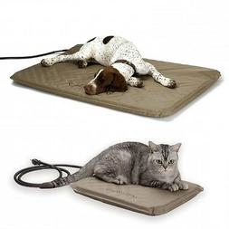 K&H Lectro Soft Outdoor Indoor Heated Orthopedic Dog Bed KH1