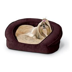 """KandH Deluxe Ortho Bolster Sleeper Pet Bed size: 40""""L x 33""""W"""
