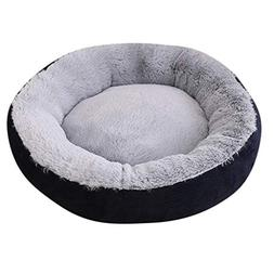 Kanhan Pet Dog Cat Bed Couch Round Cushion House Soft Mat Sl