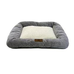 American Kennel Club Soft Warm Bolster Rectangle Pet Mat for