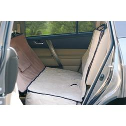 K&H Pet Products KH7861 Deluxe Car Seat Saver Tan