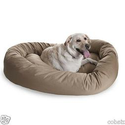 52 inch Khaki Bagel Dog Bed By Majestic Pet Products