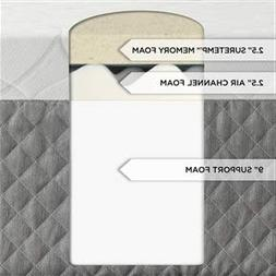 King size 14-inch Thick Memory Foam Mattress Bed Isotonic Do