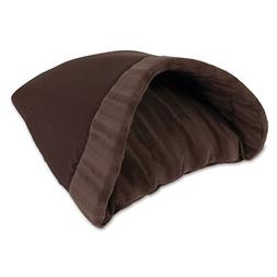 Aspen Pet Kitty Cave, 16-Inch by 19-Inch, Chocolate Brown