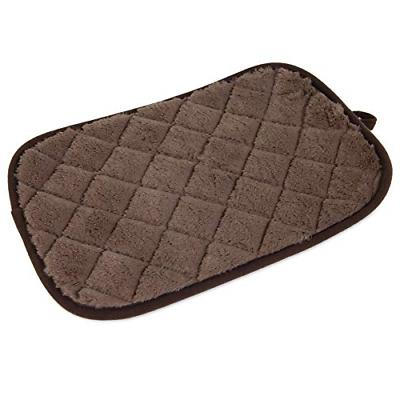 SNOOZZY BROWN 17.5X11.5 QUILTED MAT