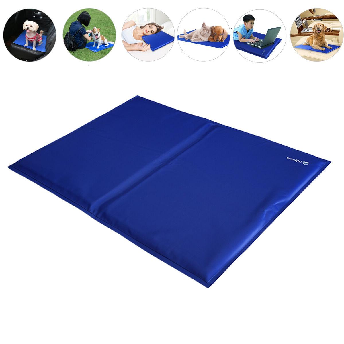 18'' x 24'' Cooling Mat Pad Cat Gel Summer Comfort Cold Chilly