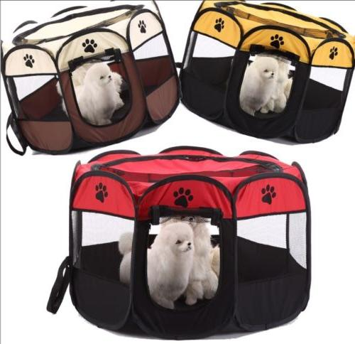1x one touch portable folding large dog