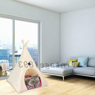 1XPet Cat Bed Pet House Kennel