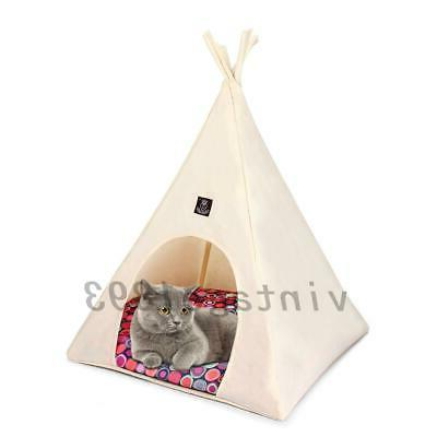 1XPet Dog Cat Portable Pet Tent House Kennel