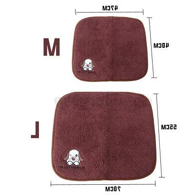 2 in Warm/Cool Pet Cushion Pad Dog Cat Kennel Crate Soft Cozy