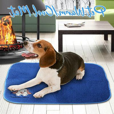 2 in 1 warm cool pet bed