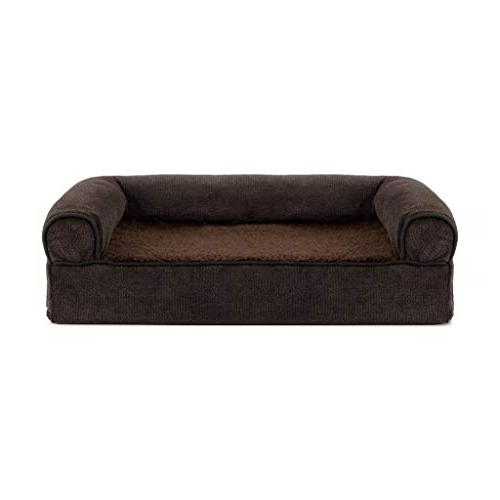 30 inches coffee orthopedic pet bed medium