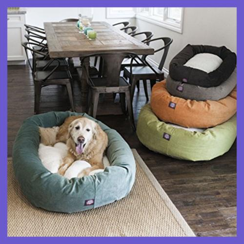 "52"" Sherpa Bed Pet Supplies"