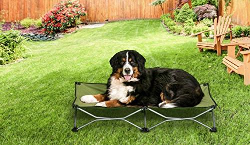 """Carlson Products Elevated Bed 46"""" Case,"""