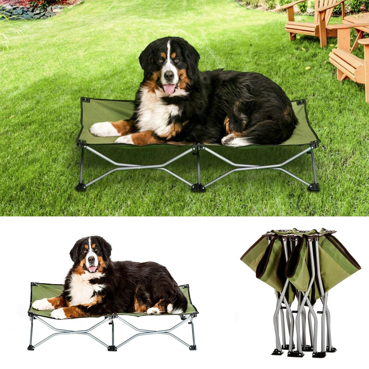 8045 elevated folding pet bed 46 long