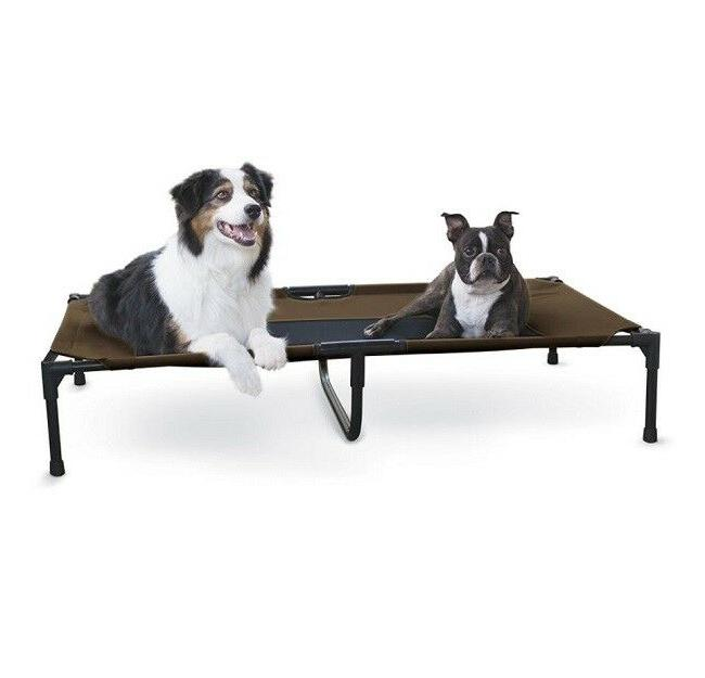 Elevated Pet Folding Dogs Outdoor