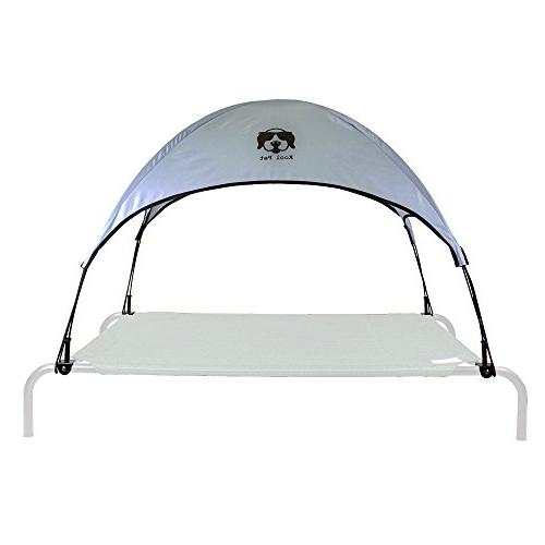 Everything Summer Camp Dog Bed Canopy/Sun Shade with Adapter