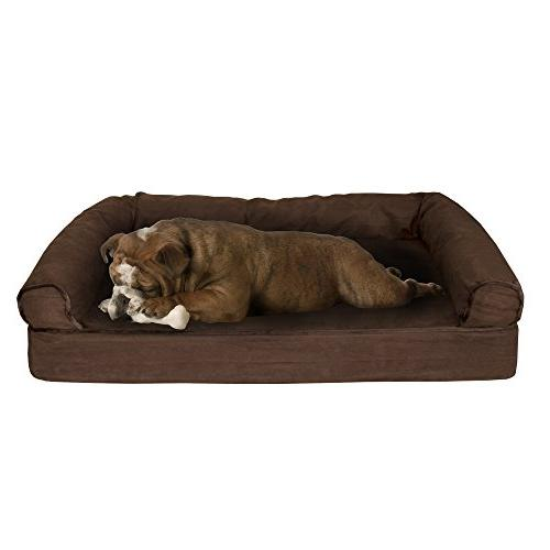 PETMAKER Bed Memory and 35.5x24x8 Brown