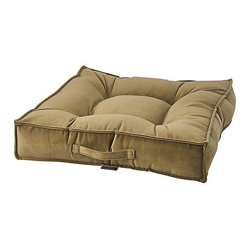 amber microvelvet piazza dog bed