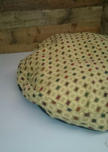 """Ashford Patch 36"""" round Bed Only Ohio Beige"""
