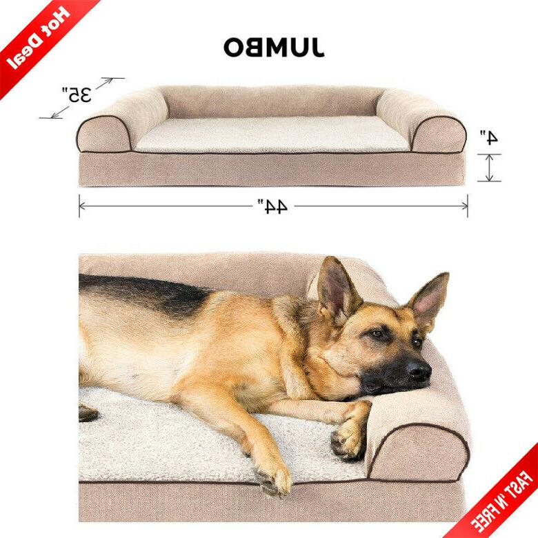 big dog bed sofa pet warm couch