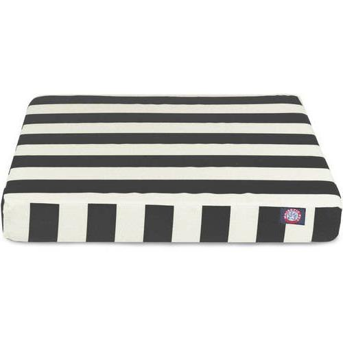 Stripe 36 Orthopedic Comfort Rectangle Striped Pattern, Dog Joints Zippered Cover, Polyester