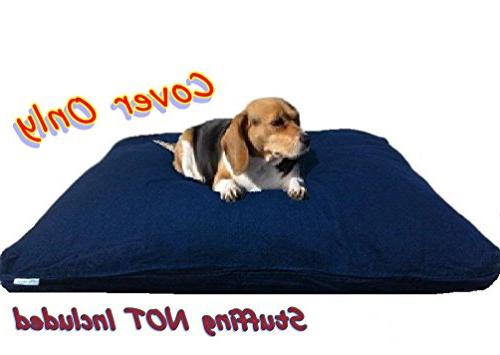 Dogbed4less 40X35X4 Inches Color Dog Pet Bed zipper Cover cover