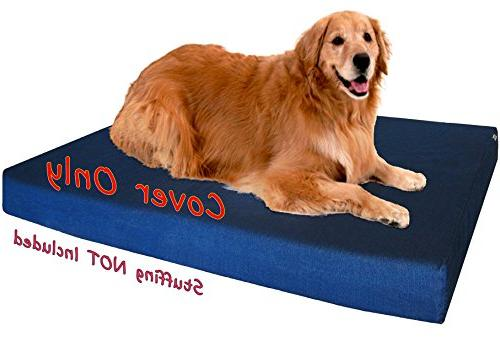 Dogbed4less Color Durable zipper Cover cover only