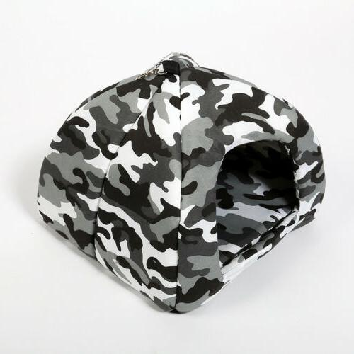 Camouflage Cat Bed Luxury Tent For Pets Puppy