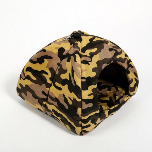 Camouflage Dog Cat Bed Luxury Puppy