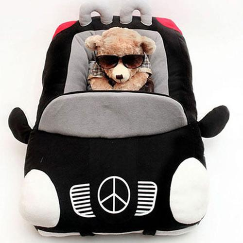 Car Design PP Padded Warm Small Puppy