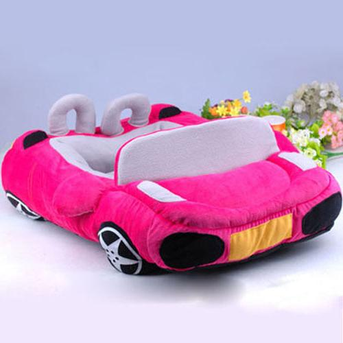 Car Dog Beds PP Cotton Soft Warm Small Puppy