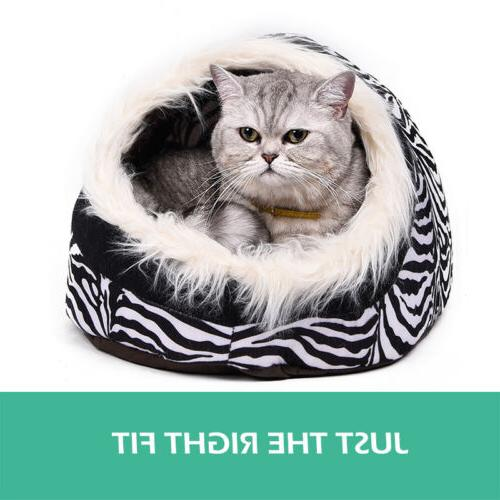 Cat Beds For Small Cave Pet Cushion