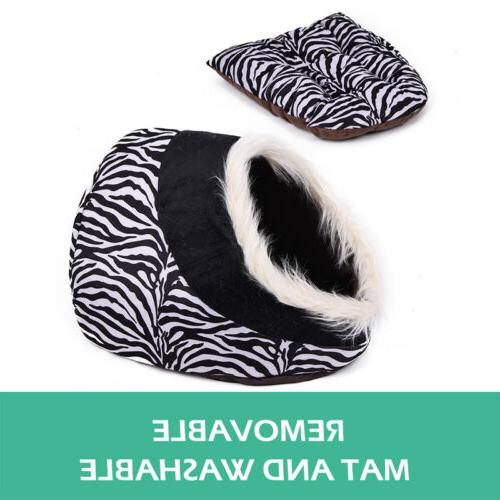 Cat For Small Dogs Cozy Puppy Cave Pet Indoor Cushion