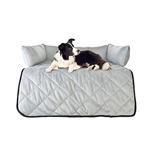 Cat & Dog Couch Cover - Sofas, or Beds - Purpose Pet Bed, Sofa & Furniture Protector Bolster and