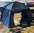 Cat or Dog Bed that pops up like a Tent- My Cats go Psycho *