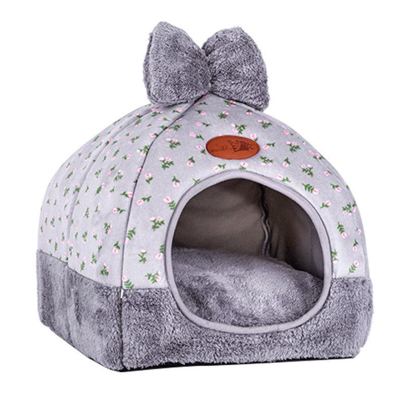 Cat Dog Puppy Warm Bed Pad Nest Kennel Tent
