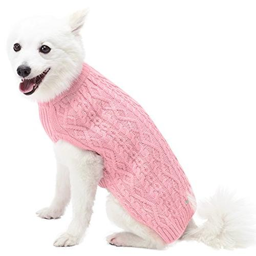 """Blueberry Classic Blend Knit Pullover Dog in Back Length 10"""", 1 Clothes"""