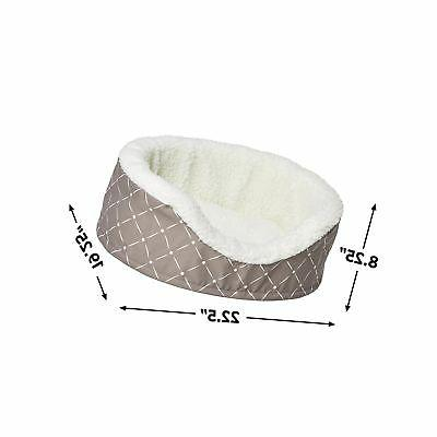 MidWest Homes for Couture Orthopedic Bed for Cats Small