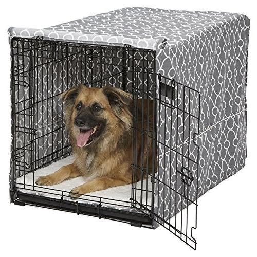 Cover Crate Dog Pet Kennel Midwest Homes Pets Washable Cotto