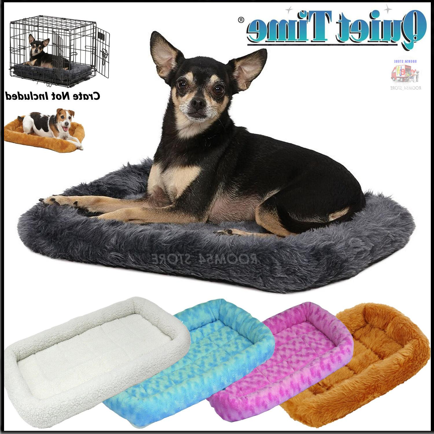 deluxe bolster pet ultra soft bed small
