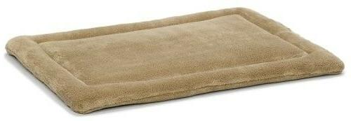 Deluxe Micro Terry Bed, Dog/cat Crate Mat,