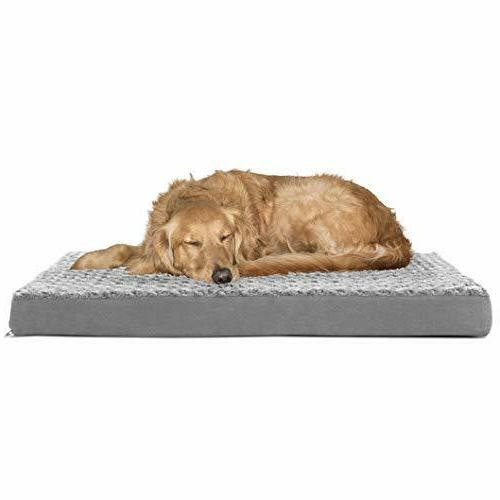 deluxe orthopedic dog bed