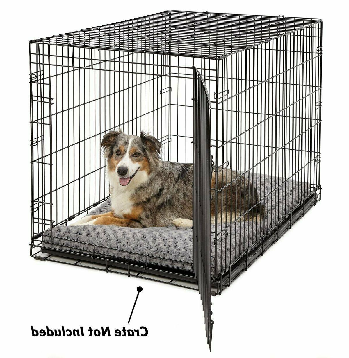 MidWest for Deluxe Beds, Super Plush Dog Cat Ideal for Crates