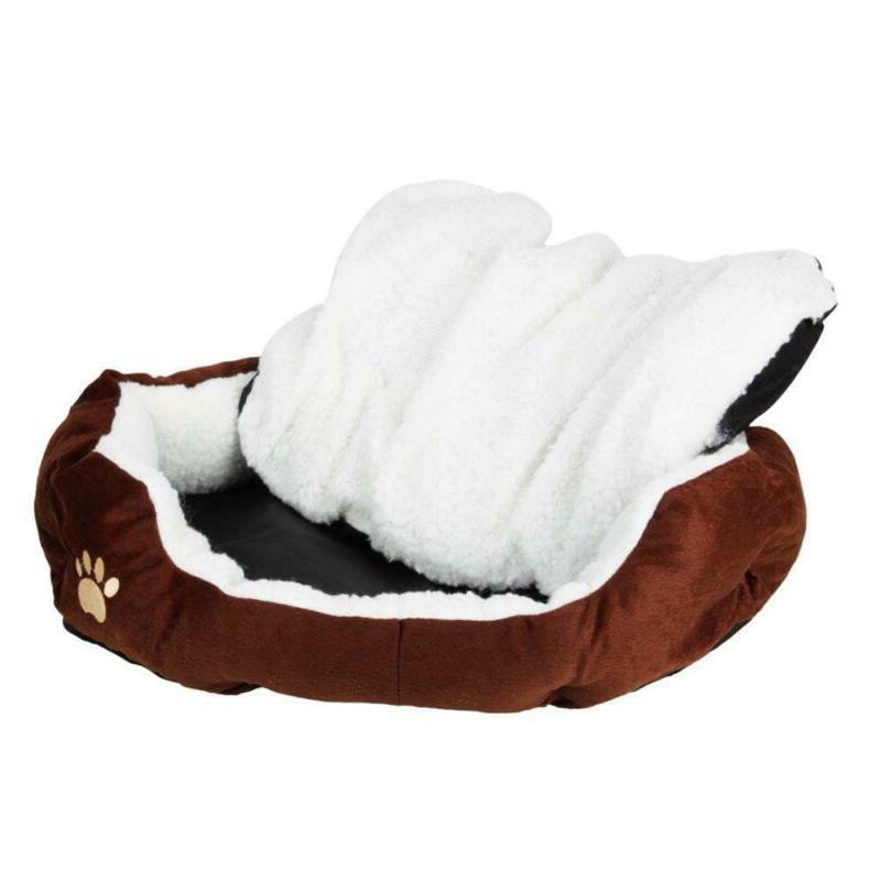 Deluxe Soft Washable Dog Cat Pet Warm Bed