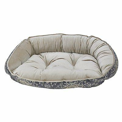 Bowsers Diamond Series Microvelvet Crescent Bed