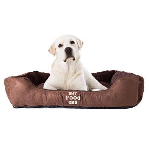 dog bed biscuit m l