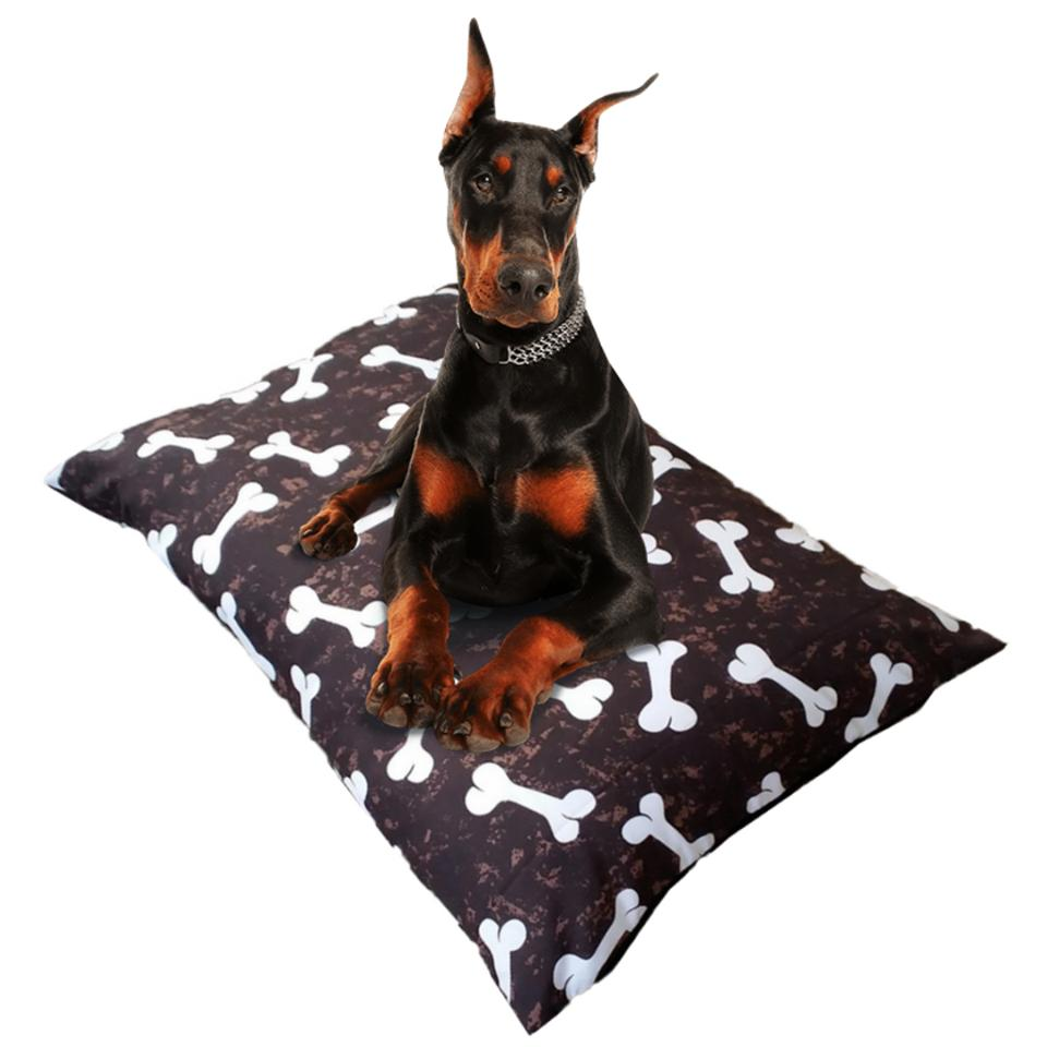 Dog Bed With Replaceable Mat