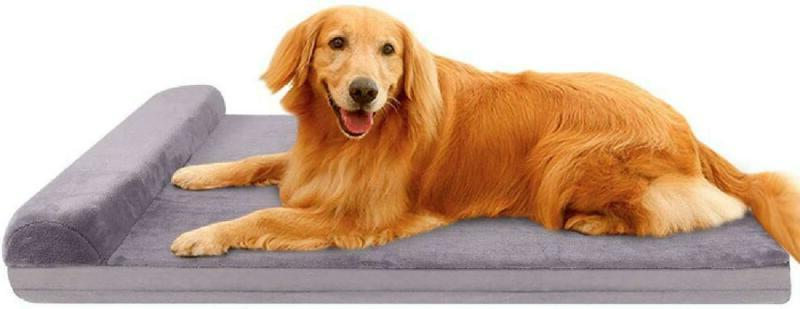 Joicyco Dog Bed Crate Mat Dog Beds For Large Dogs Pet Beds F